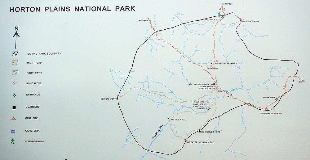 Horton Plains National Park Sri Lanka