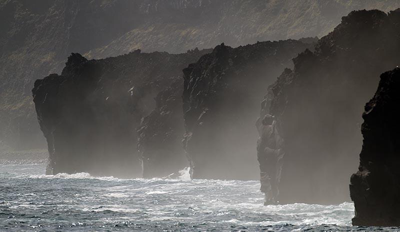Tristan da Cunha cliffs (image by Damon Ramsey)