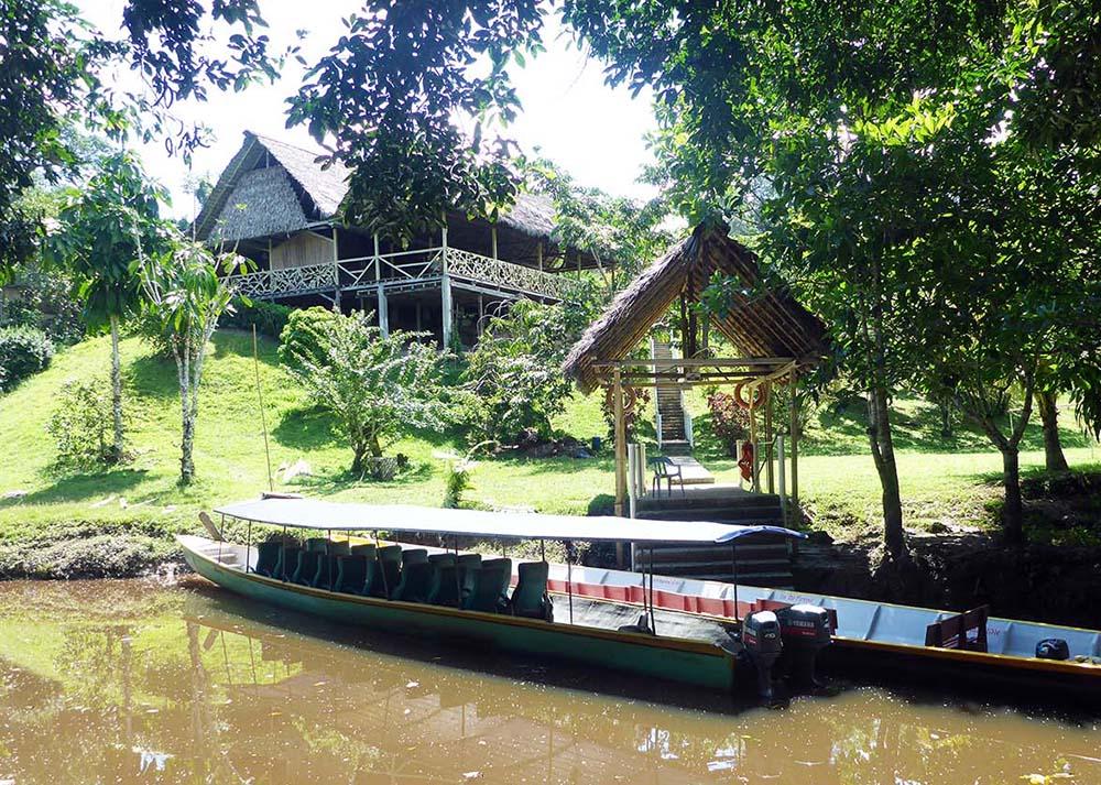 Yarina Lodge, the Amazon, Ecuador (image by Damon Ramsey)
